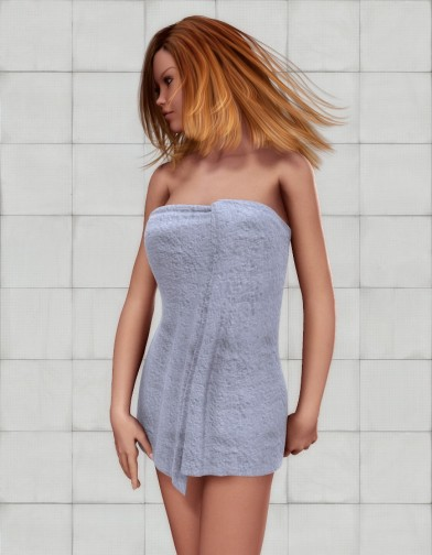 Full Body Towel for V4 Image