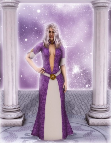 Ladies of the Court: Vivianna Dress for Dawn Image