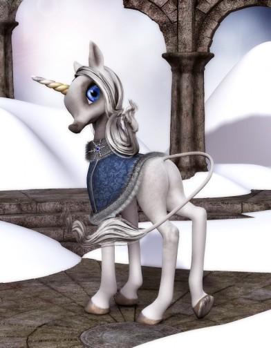 Winter Cloak for Unicorn Youth Image