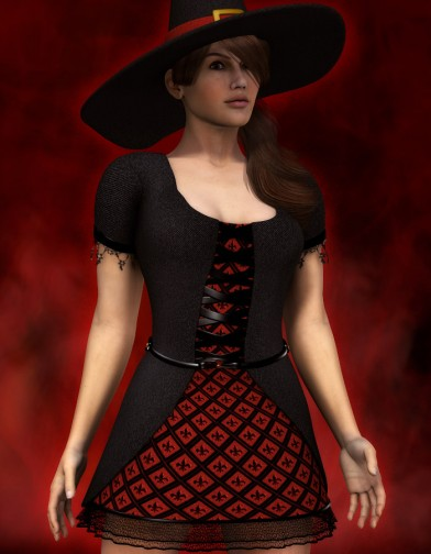 Witch Dress for Dawn image