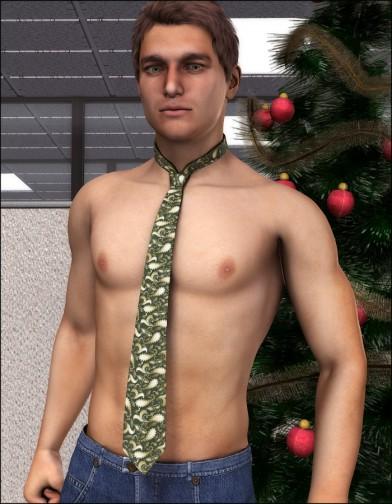 Holidays: Tie Xmas textures image