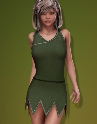 Elf Dress for V4 Image