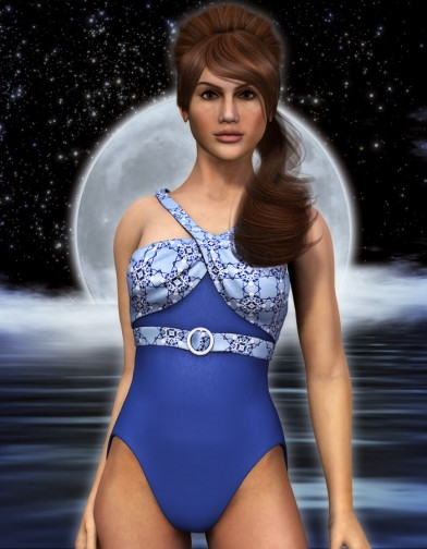 Midnight Swimsuit for Dawn image