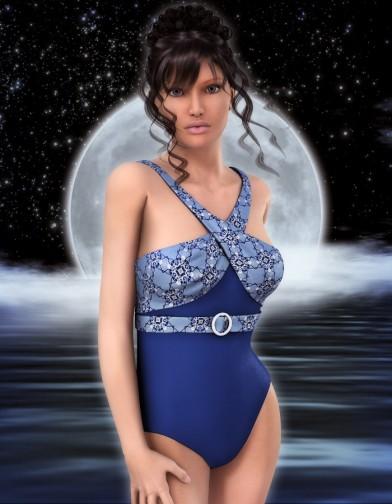 Midnight Swimsuit for V4 image