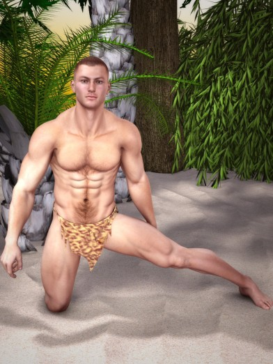 Jungle Loin Cloth for M4 Image