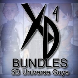 3D Universe Guys CrossDresser Bundle Image
