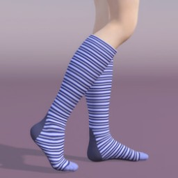 Knee High Toe Sock for A3 Image