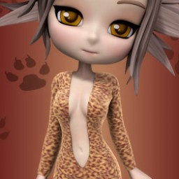 Animal Print Bodysuit for Cookie image