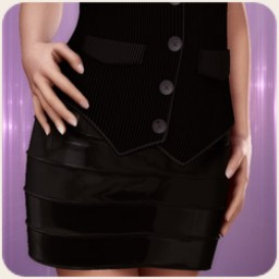 Bandage Skirt for V4 Image