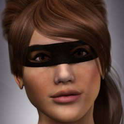 Bandit Mask for Dawn Image