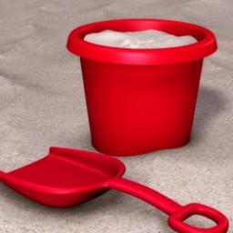 Beach Bucket and Shovel Image