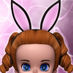 Bunny Ears and Tail for Lil Bit Image