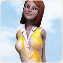 Button Down Dress for SuzyQ 2 Image