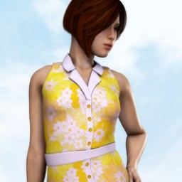 Button Down Dress for Roxie Image