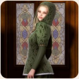 Caroling Dress for V4 Image