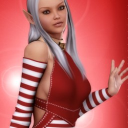 Candy Cane Elf for V4 image