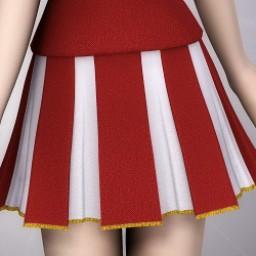 Cheerleader Skirt for Cookie Image