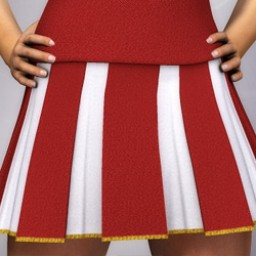 Cheerleader Skirt for Dawn Image