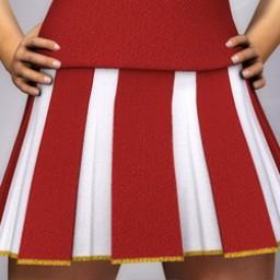 Cheerleader Skirt for Dawn Image