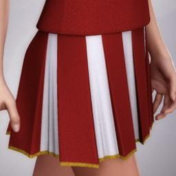 Cheerleader Skirt for V4 Image