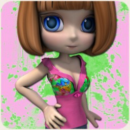 Summer Melon Shirt Cookie Image