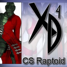 CS Raptoid CrossDresser License Image