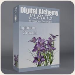 Digital Alchemy: Ligurian Crocus Image