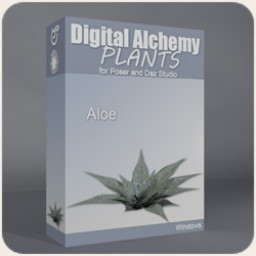 Digital Alchemy: Aloe Deltoideodonta Image