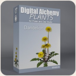Digital Alchemy: Dandelions Image