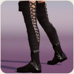 Thigh High Boots for Dawn
