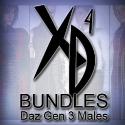 Daz Gen 3 Males CrossDresser Bundle Image
