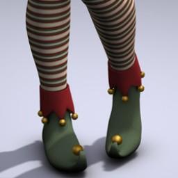 Jingle Elf Shoes for V4 Image