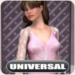 Universal Butterfly Dress Image