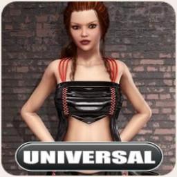 Universal Night Slayers Black Ice Shirt Image