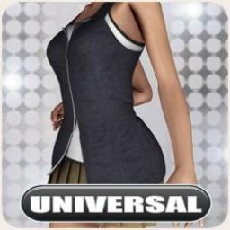 Universal School Girl Casual Image