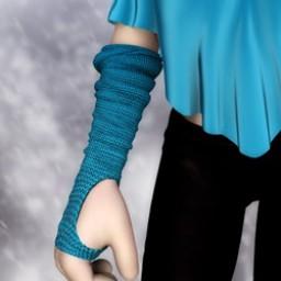 Fingerless Gloves for Cookie image
