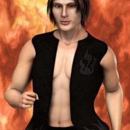 Fire Dragon Vest for Dusk Image