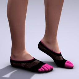 Footie Toe Sock for V4 Image
