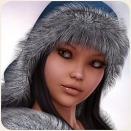 Fur Trim Hat for V4 Image