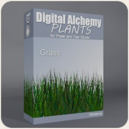 Digital Alchemy: Grass Image