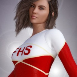 School Spirit: Gymnast for Genesis 3 Female image