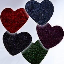 Textures for Heart Pasties