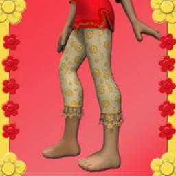 Nostalgia: 1960's Hippie Pants for Cookie Image