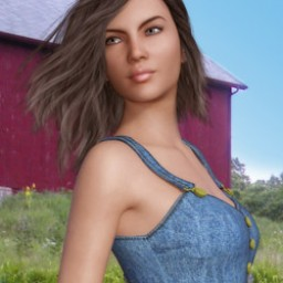 Jean Top for Genesis 3 Female image