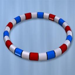 Holidays: Beaded Bracelet & Anklet July4 Image