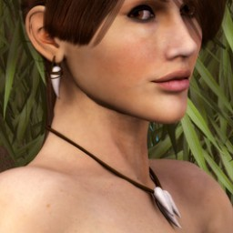 Jungle Fang Necklace/Earrings for Dawn Image