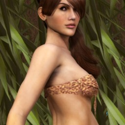 Jungle Tube Top for Dawn Image