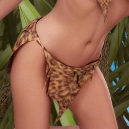 Jungle Loin Cloth for V4 Image