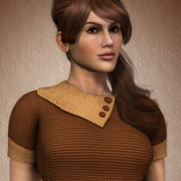 Short Sleeve Knit Dress for Dawn Image