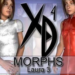 Laura 3 XD Morphs Image